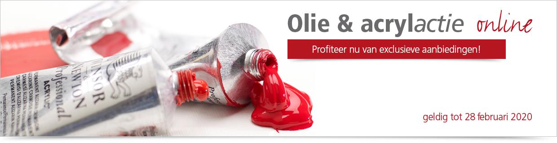 Oil-Acryl Actie