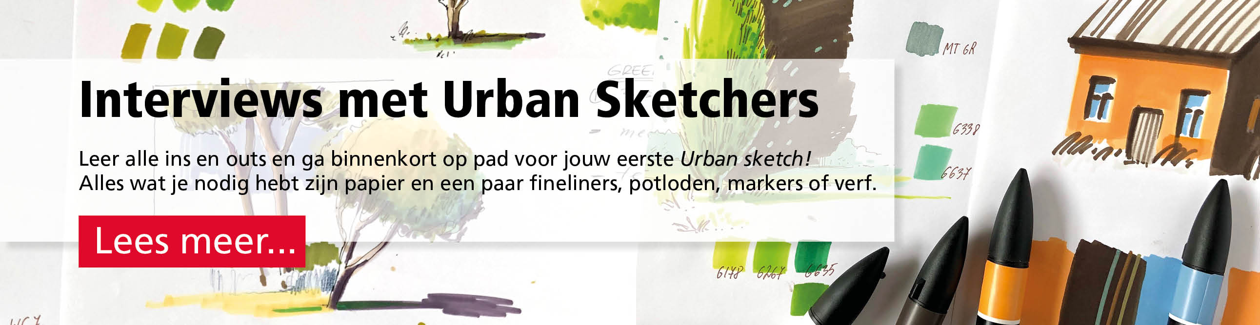 Interviews met Urban Sketchers