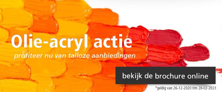Olie-acryl actie 2021